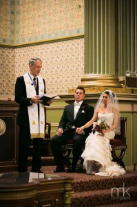 Wedding at Masonic Temple, Philadelphia, PA